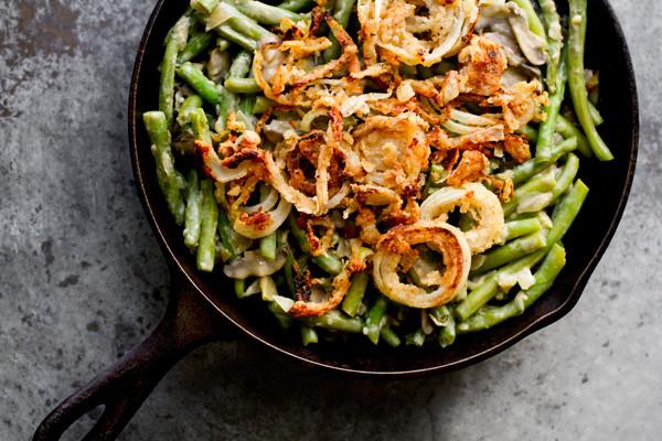 Campbell'S Green Bean Casserole Recipe  Vegan Green Bean Casserole Recipe from OhMyVeggies