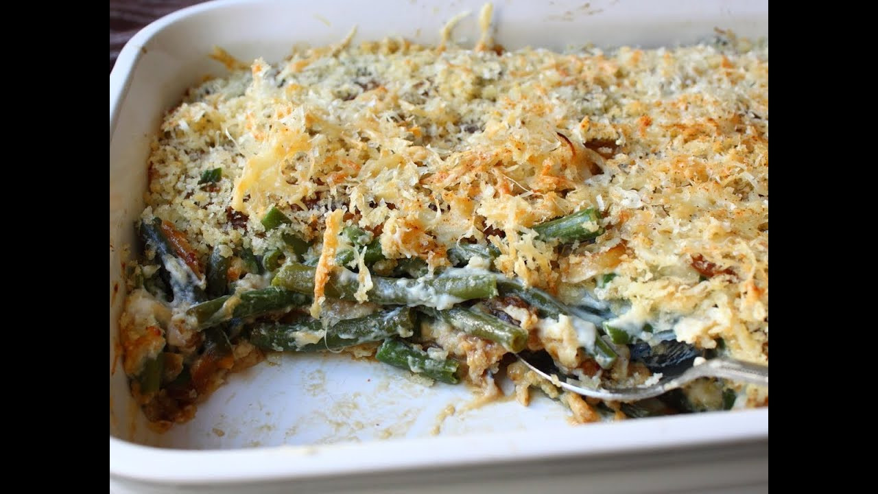 Campbell'S Green Bean Casserole Recipe  French ion Green Bean Casserole Recipe Thanksgiving