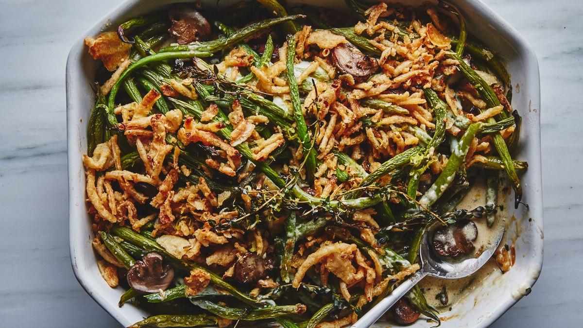 Campbell'S Green Bean Casserole Recipe  BA s Best Green Bean Casserole Recipe