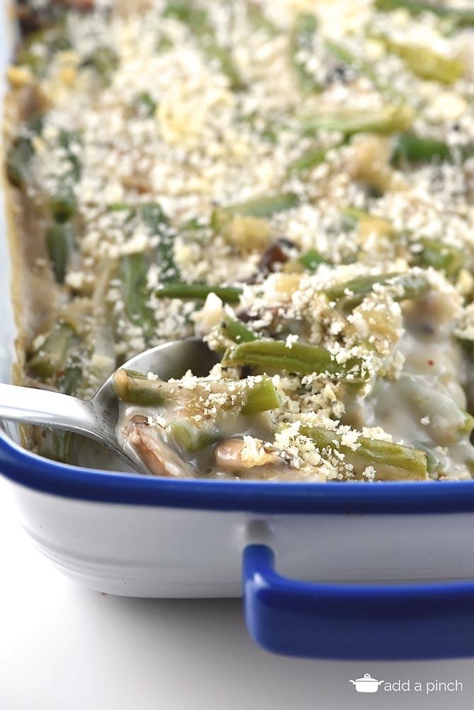 Campbell'S Green Bean Casserole Recipe  Green Bean Casserole Recipe Add a Pinch
