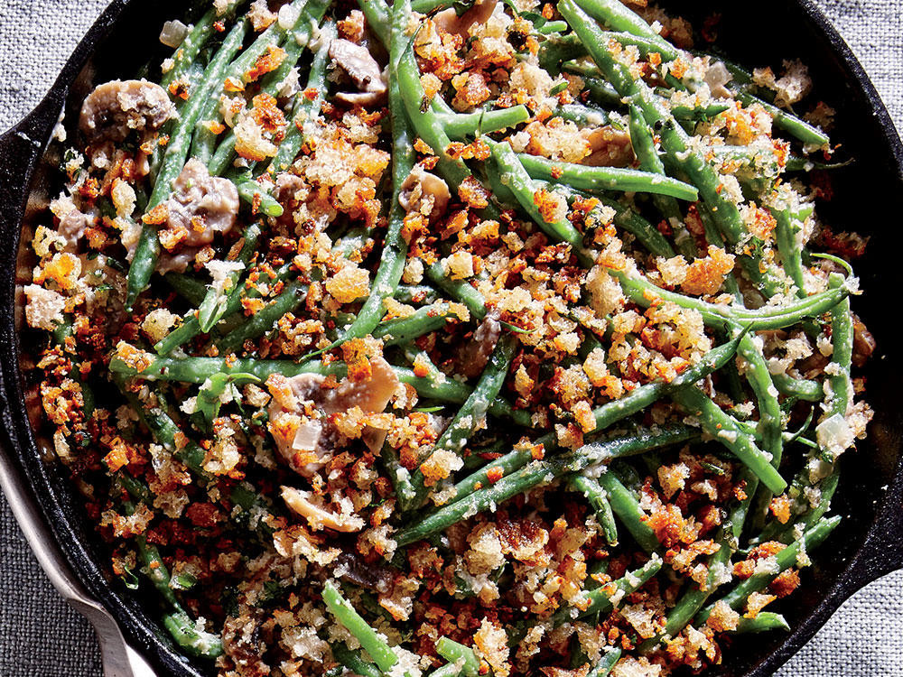Campbell'S Green Bean Casserole Recipe  Skillet Green Bean Casserole Recipe Cooking Light