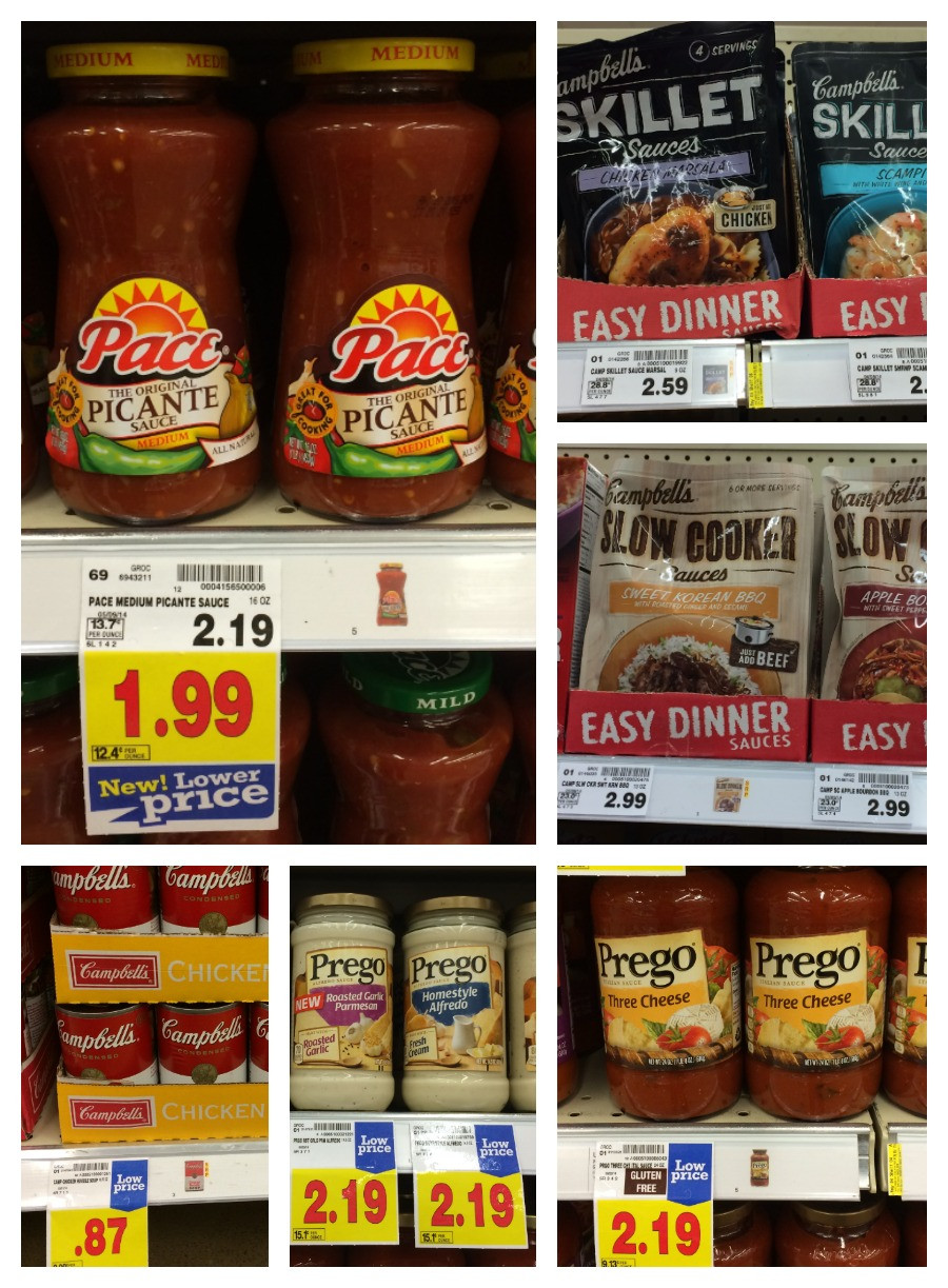 Campbell'S Slow Cooker Sauces  NEW Coupons for Campbell s Catalina = Great Deals at