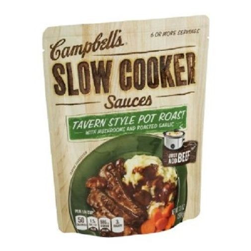 Campbell'S Slow Cooker Sauces  Campbell s Slow Cooker Sauces Tavern Style Pot Roast