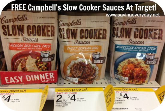 Campbell'S Slow Cooker Sauces  Pin by Stephenie Barba on My Style