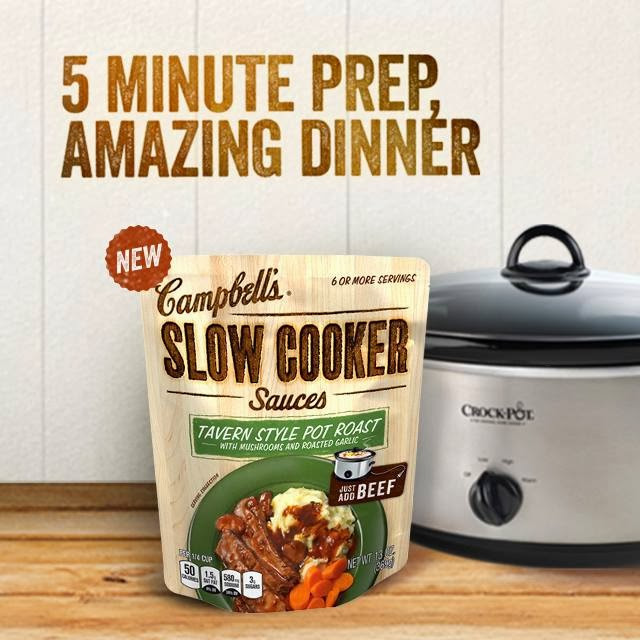 Campbell'S Slow Cooker Sauces  Extreme Couponing Mommy FREE Campbell s Slow Cooker