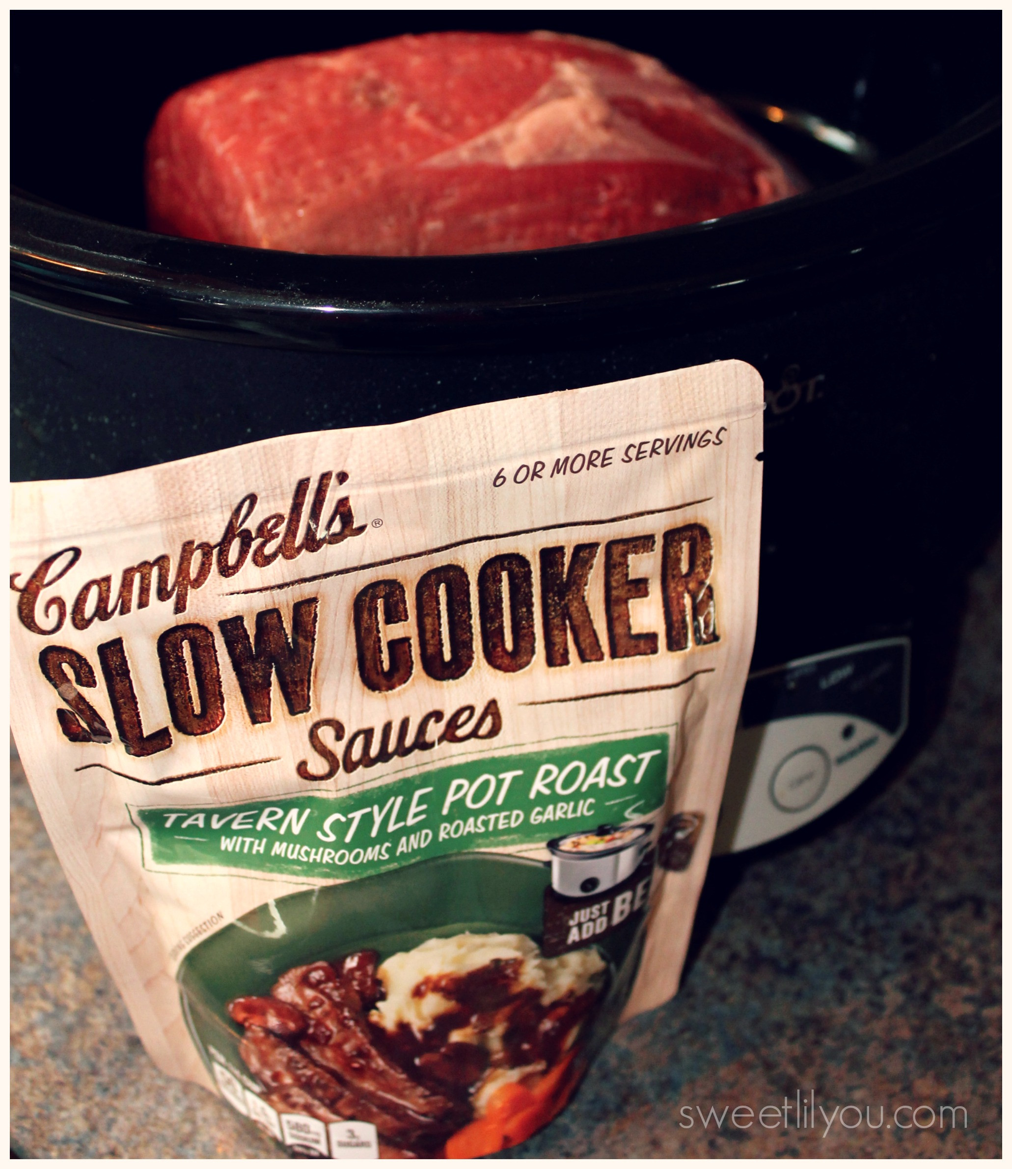 Campbell'S Slow Cooker Sauces  Easy Dinner Shepherd s Pie With Creamy Mashed Potatoes
