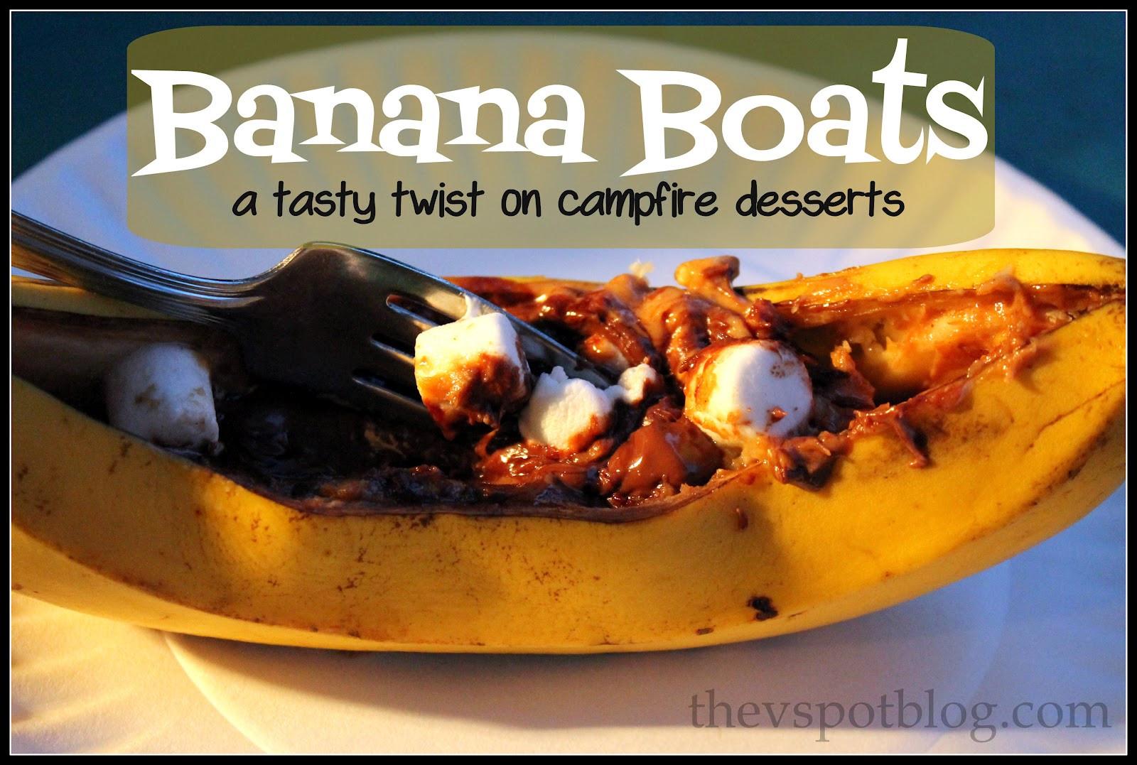 Campfire Dessert Recipes  Banana Boats a tasty twist on campfire desserts