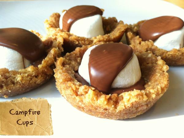 Campfire Dessert Recipes  Dessert Campfire Cups Recipe