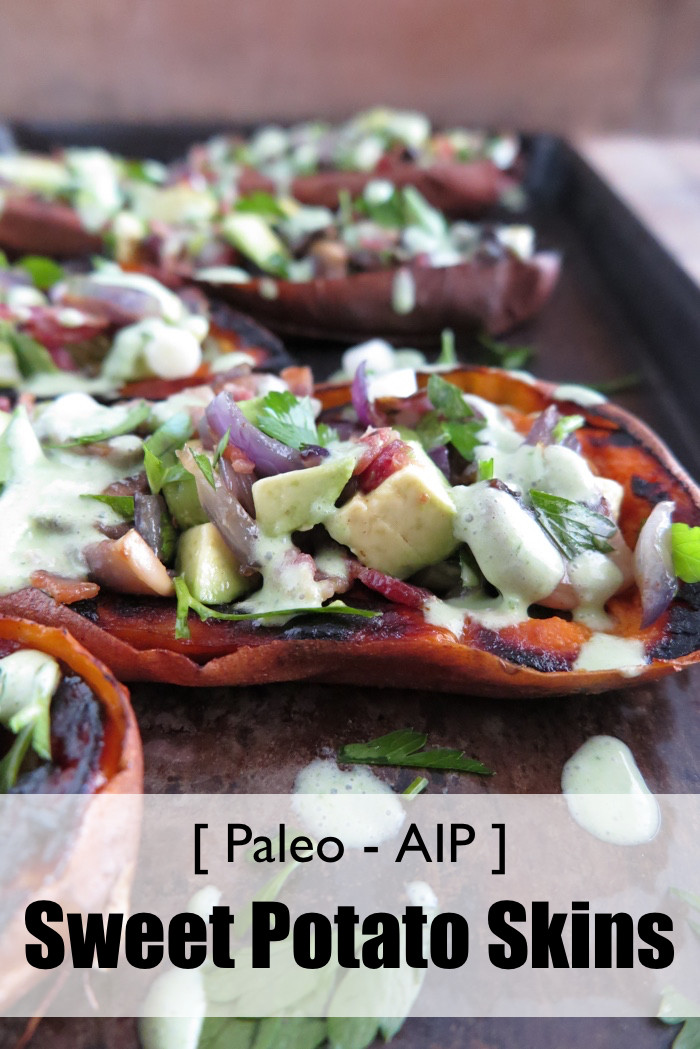 Can You Eat Potato Skin  Stuffed Sweet Potato Skins AIP Paleo