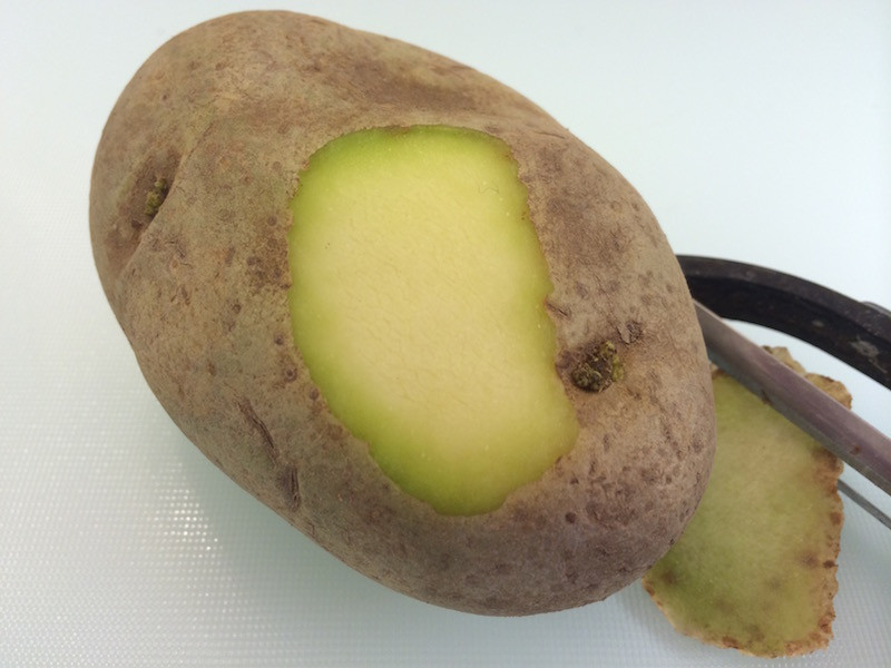 Can You Eat Potato Skin  Can You Eat Green Potatoes Answers EatByDate