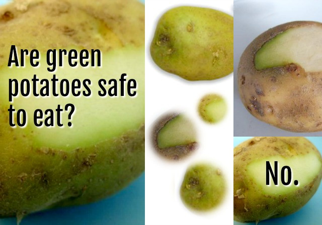 Can You Eat Potato Skin  Are Green Potatoes Safe to Eat