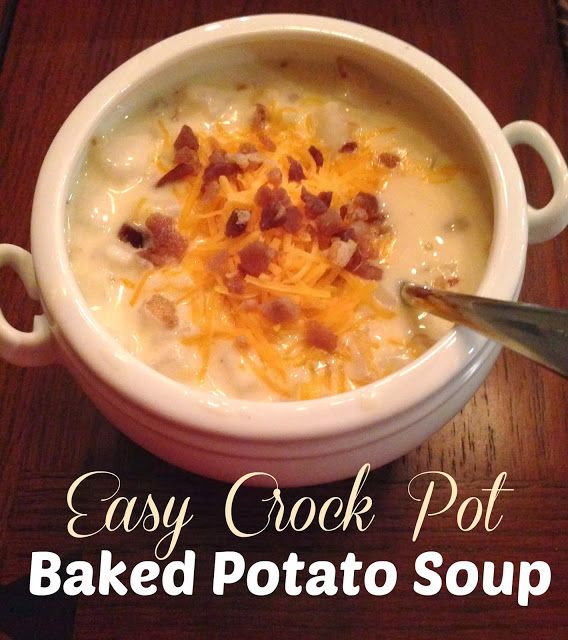 Can You Freeze Potato Soup  Easy Crockpot Potato Soup Making this again tonight It