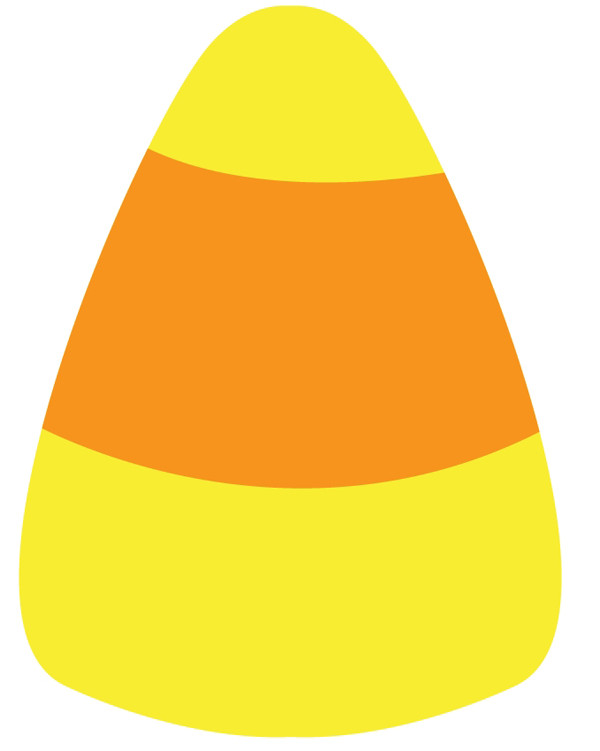 Candy Corn Clip Art  How to Make a Quick Kawaii Candy Corn Pattern for Halloween