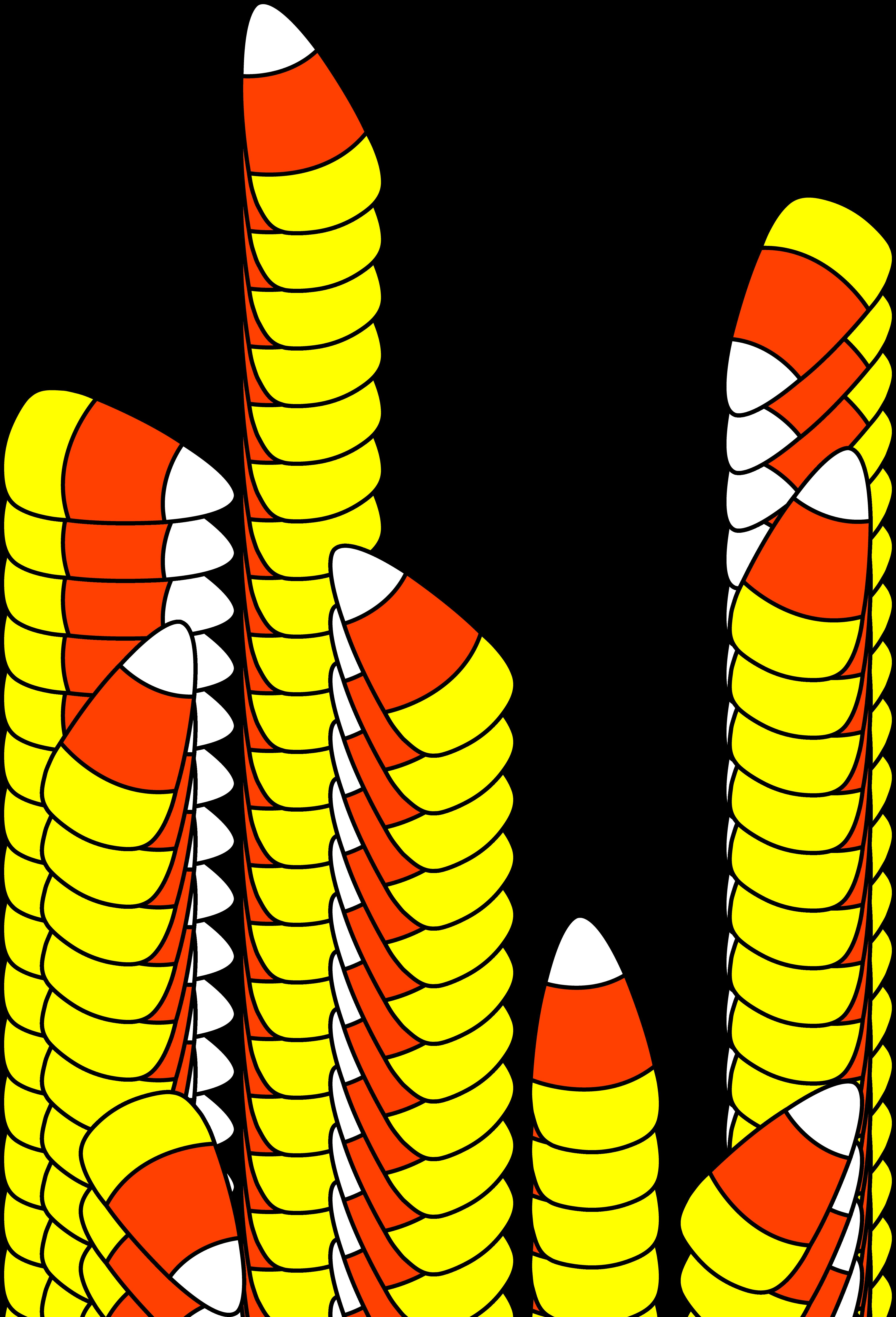 Candy Corn Clip Art  Halloween Candy Clipart