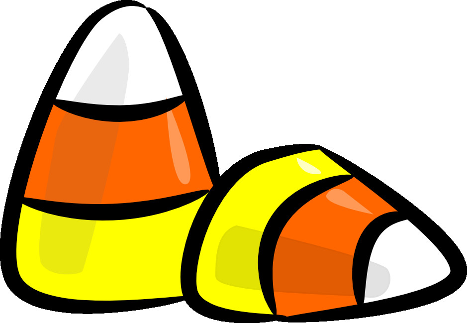 Candy Corn Clip Art  Halloween Candy Clipart Clipart Suggest