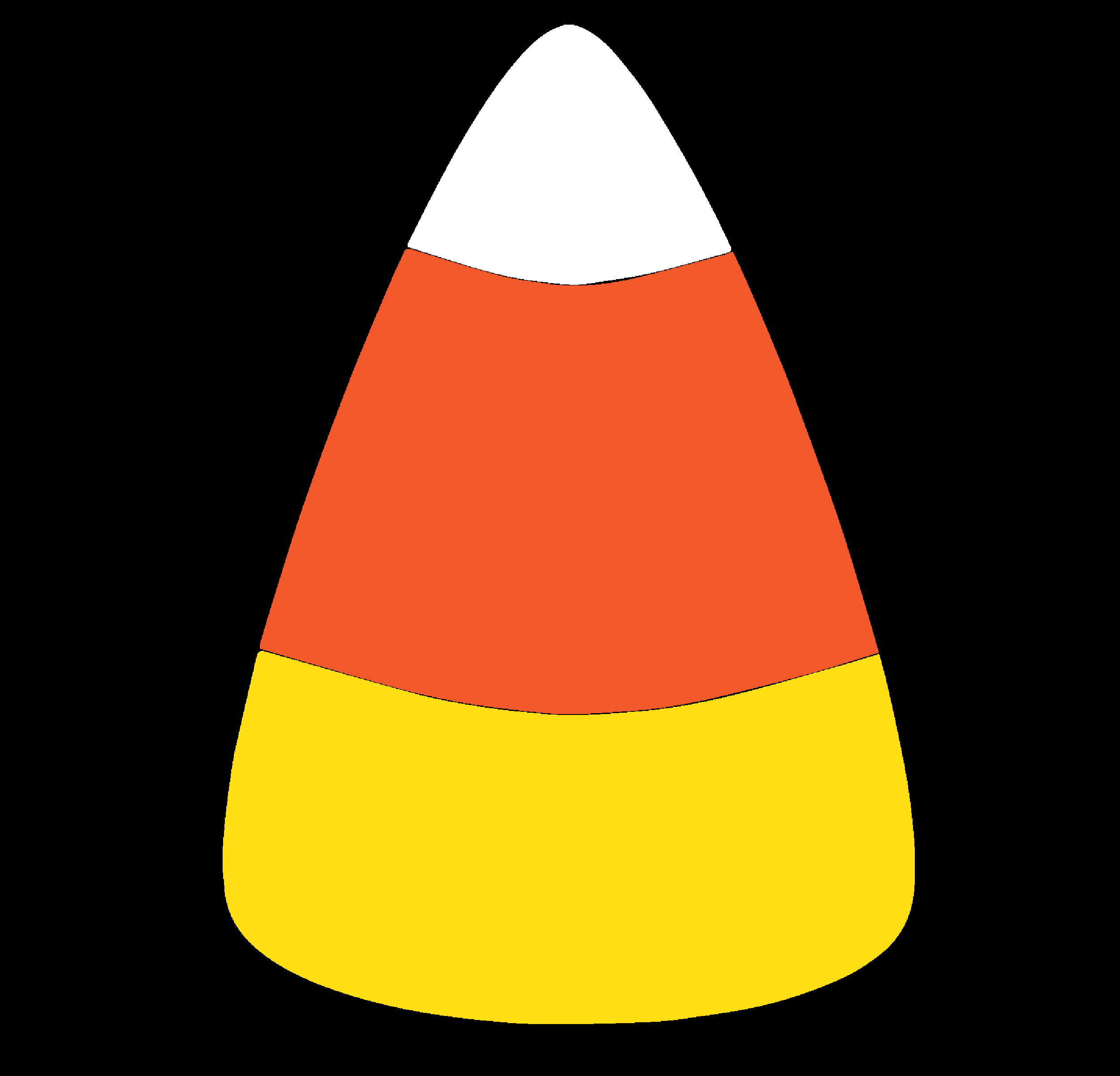 Candy Corn Clipart  Can s clipart vector transparent background png free