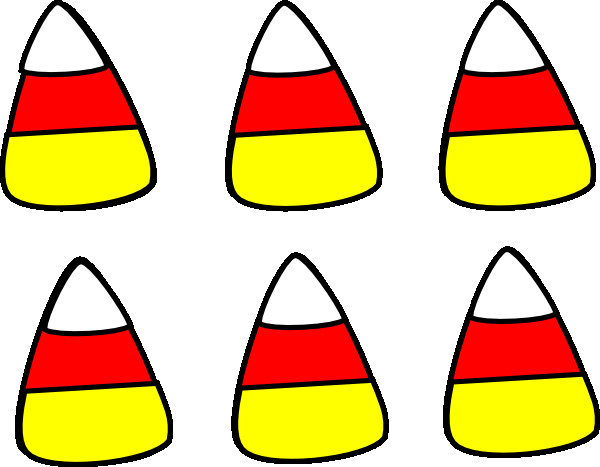 Candy Corn Clipart  Candy Corn Pattern Clip Art at Clker vector clip art