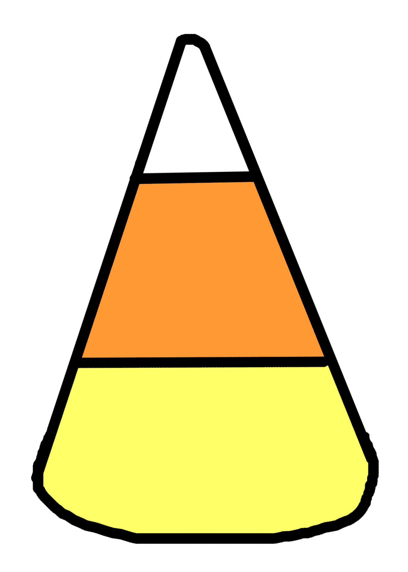Candy Corn Clipart  Candy Corn Illustration Free Stock Public Domain