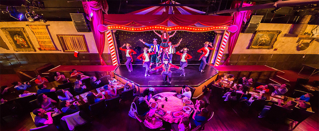 Capone'S Dinner And Show  The Cirque Magique Dinner Show Tickets in Orlando