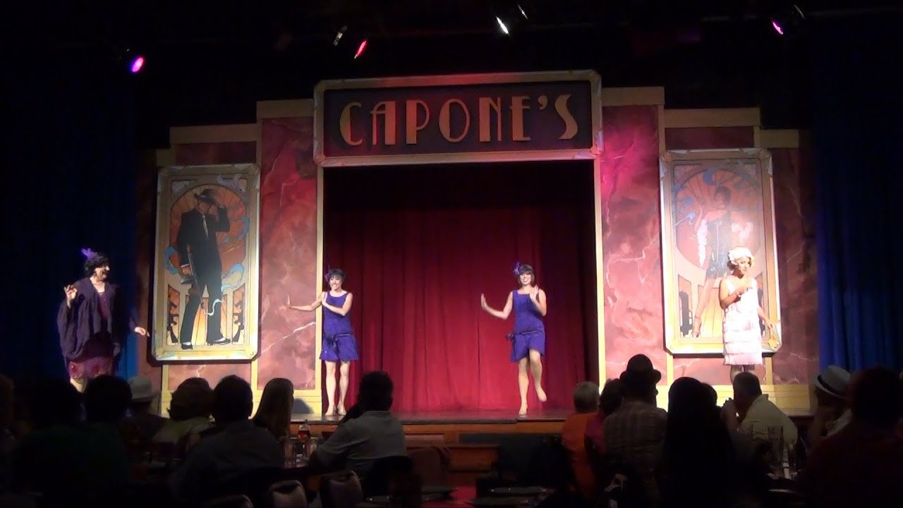 Capone'S Dinner And Show  Capone s Dinner Show Overview Fun Food Musical Theater