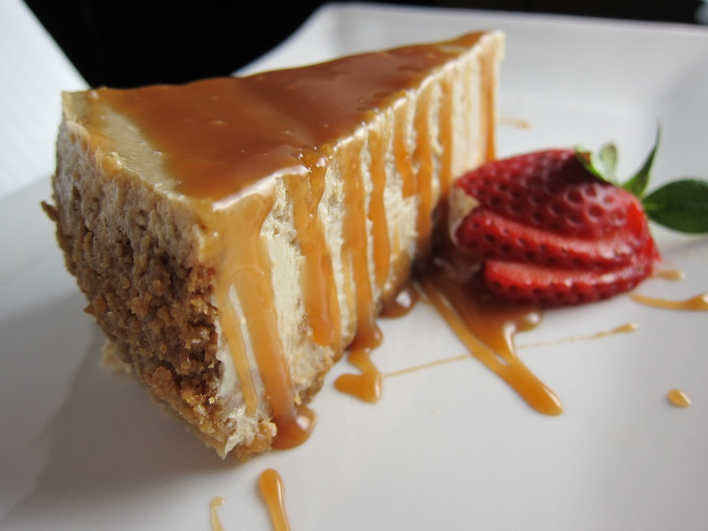 Caramel Cheesecake Recipe  Caramel Macchiato Cheesecake Recipe Easy Dessert Recipes