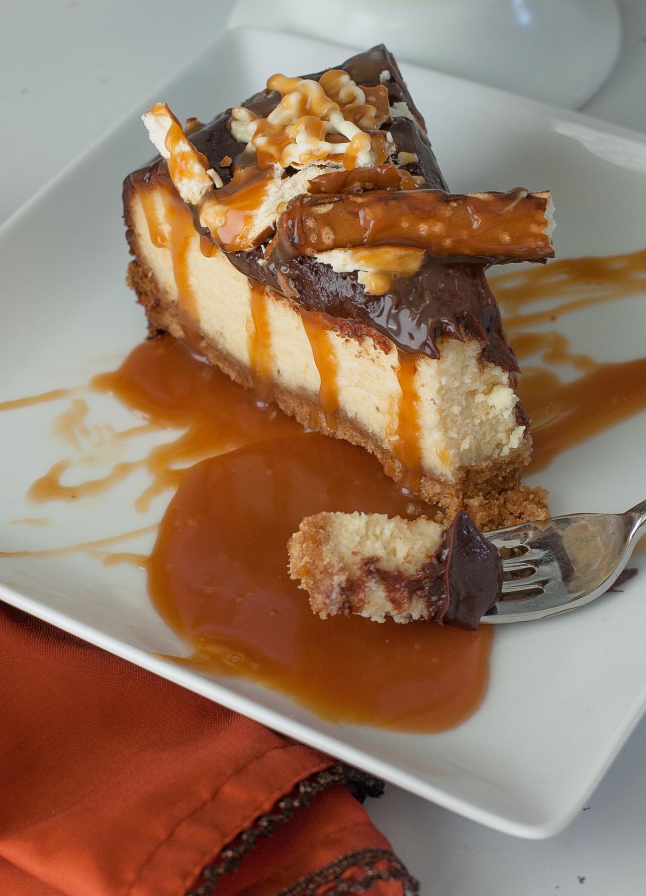 Caramel Cheesecake Recipe  Chocolate Salted Caramel Cheesecake Recipe with