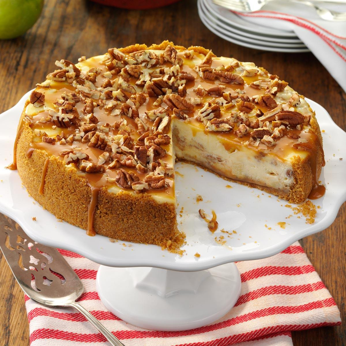 Caramel Cheesecake Recipe  Caramel Apple Cheesecake Recipe