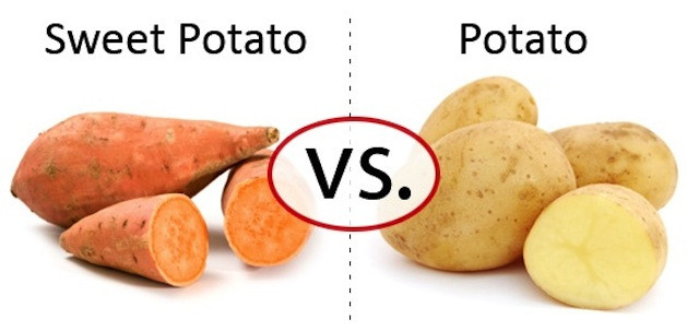 Carbs In Sweet Potato  Which Side Are You Potato vs Sweet Potato