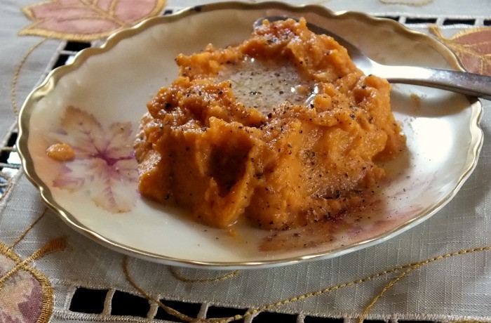 Carbs In Sweet Potato  Low Carb Sweet Potato Mash with Pecan Topping lowcarb ology