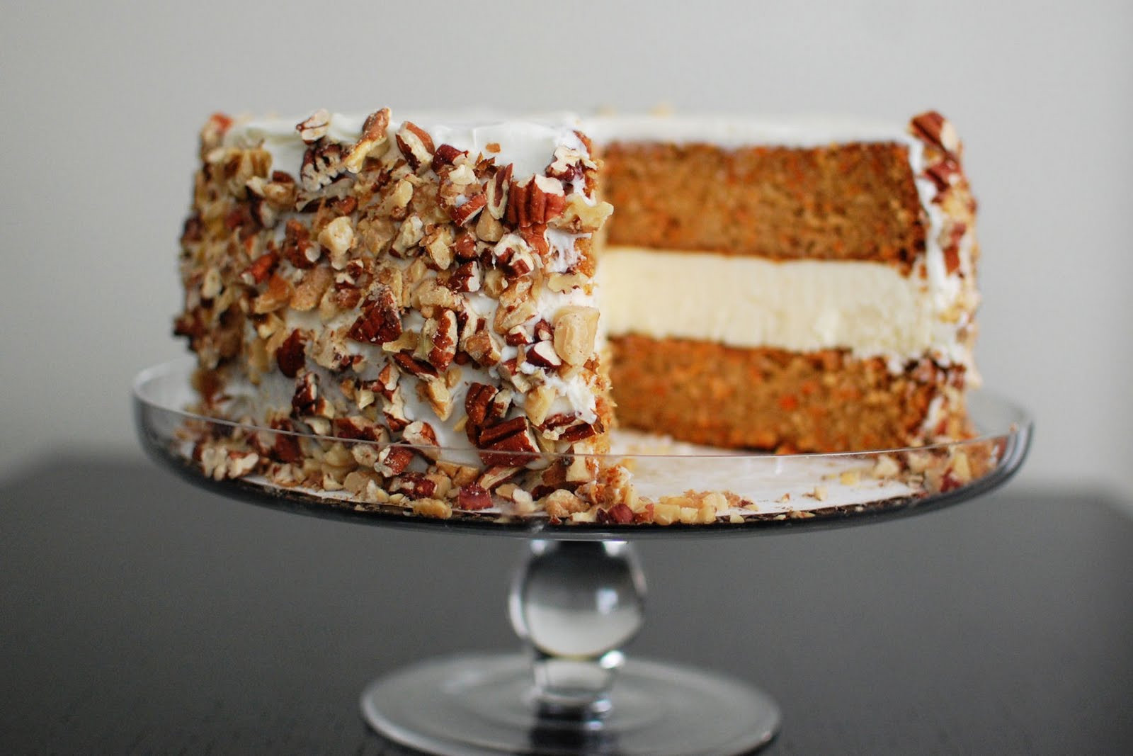 Carrot Cake Cheesecake  Carrot Cake and Cheesecake Cake