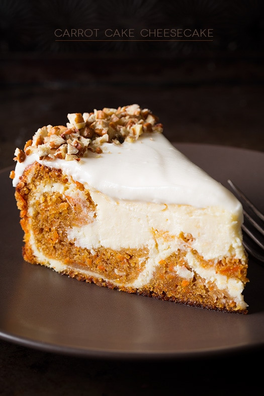 Carrot Cake Cheesecake  Carrot Cake Cheesecake Cooking Classy