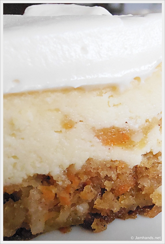Carrot Cake Cheesecake  Jam Hands Cheesecake Factory Copycat Carrot Cake Cheesecake