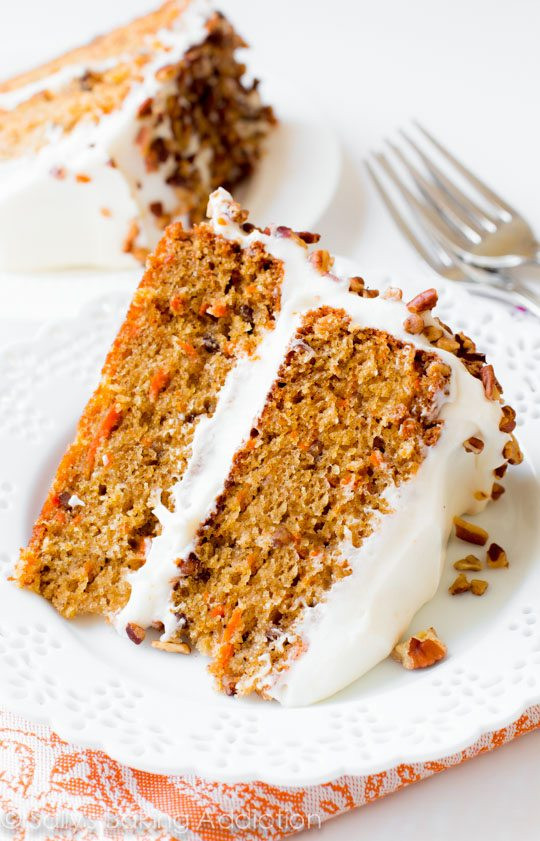 Carrot Cake Recipes  My Favorite Carrot Cake Recipe Sallys Baking Addiction