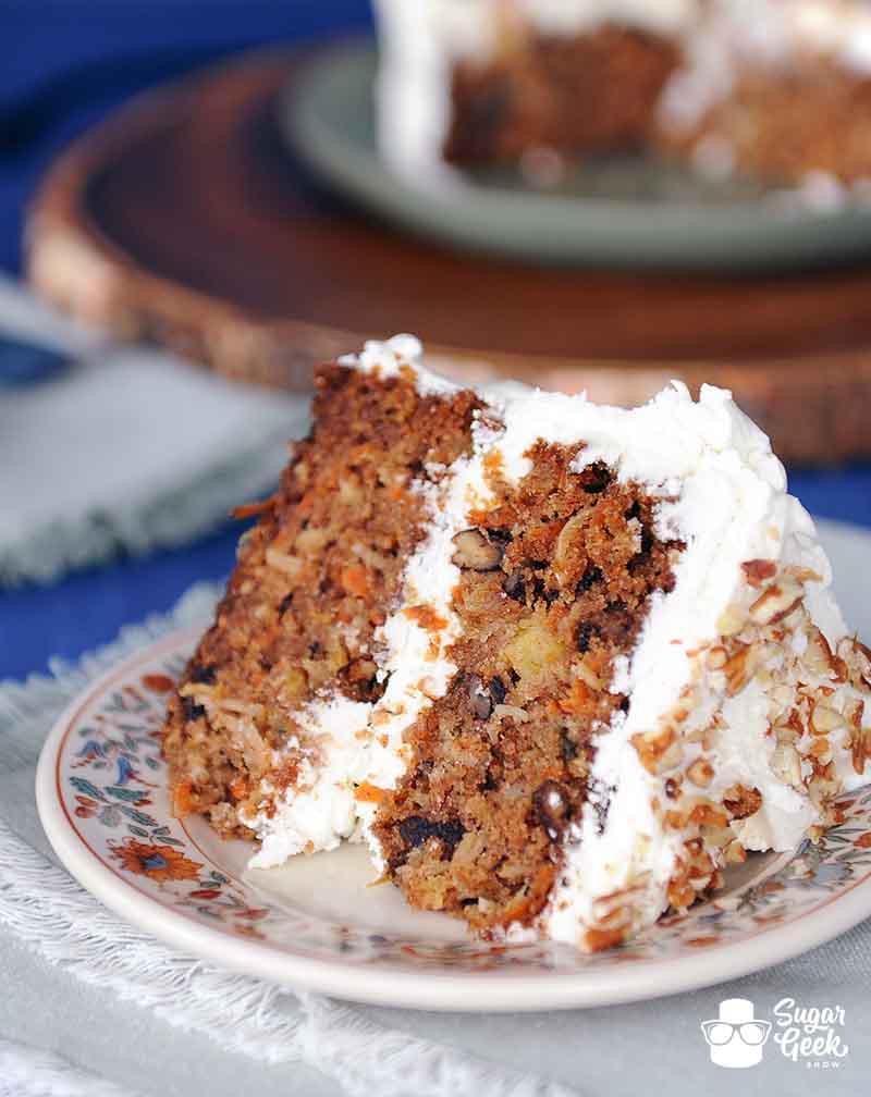 Carrot Cake Recipes  Carrot Cake Recipe – Sugar Geek Show