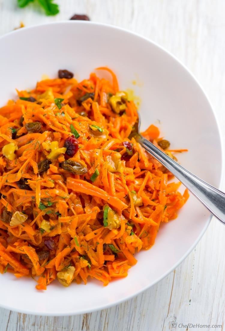 Carrot Salad Recipes  Moroccan Carrot Salad Recipe