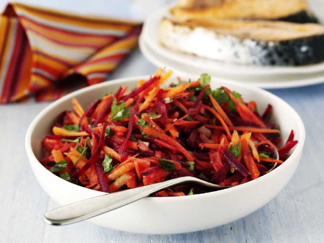 Carrot Salad Recipes  Carrot & Beetroot Salad