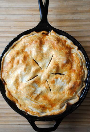 Cast Iron Skillet Apple Pie  Easy Skillet Apple Pie