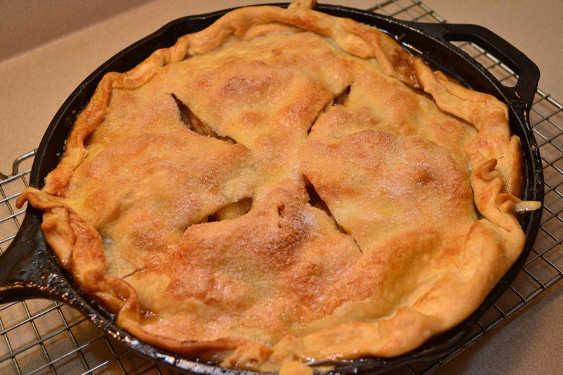 Cast Iron Skillet Apple Pie  Top Ten For Realsies