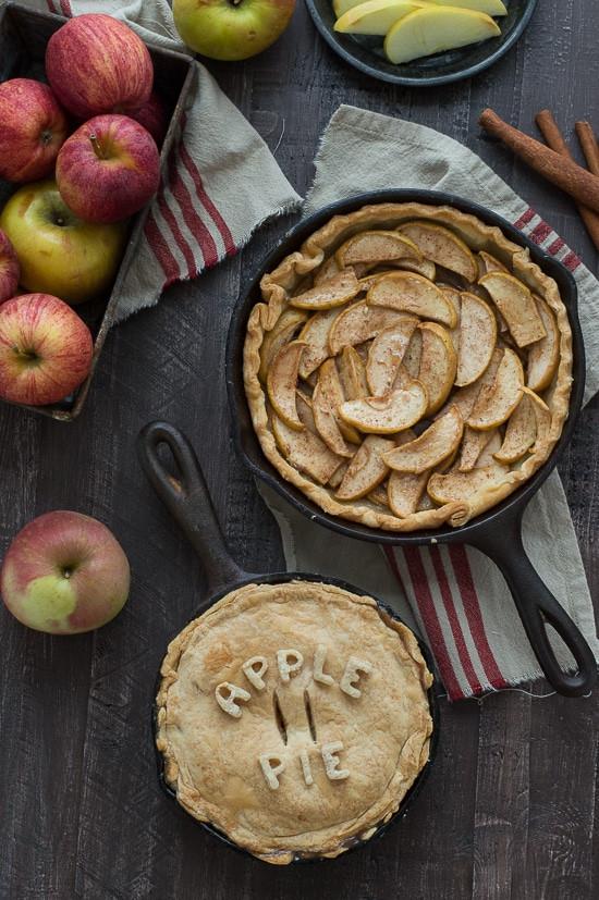 Cast Iron Skillet Apple Pie  Skillet Apple Pie