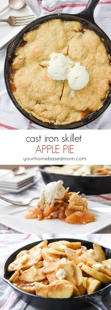 Cast Iron Skillet Apple Pie  Cast Iron Skillet Apple Pie