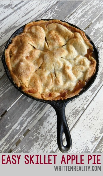 Cast Iron Skillet Apple Pie  apple pie 351x600