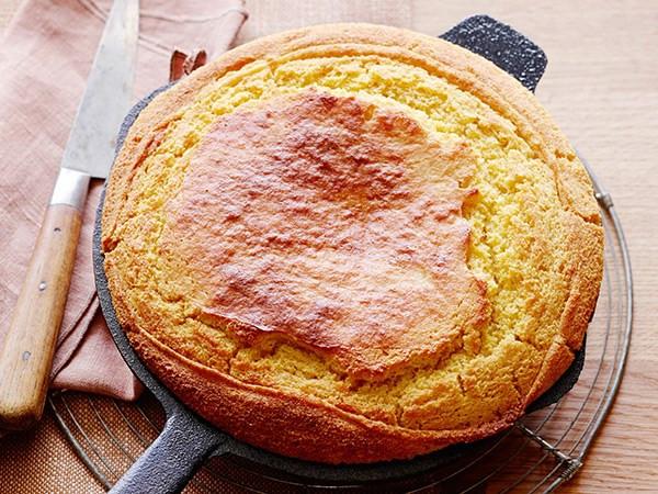 Cast Iron Skillet Cornbread  40 Make Ahead Cottage Dishes
