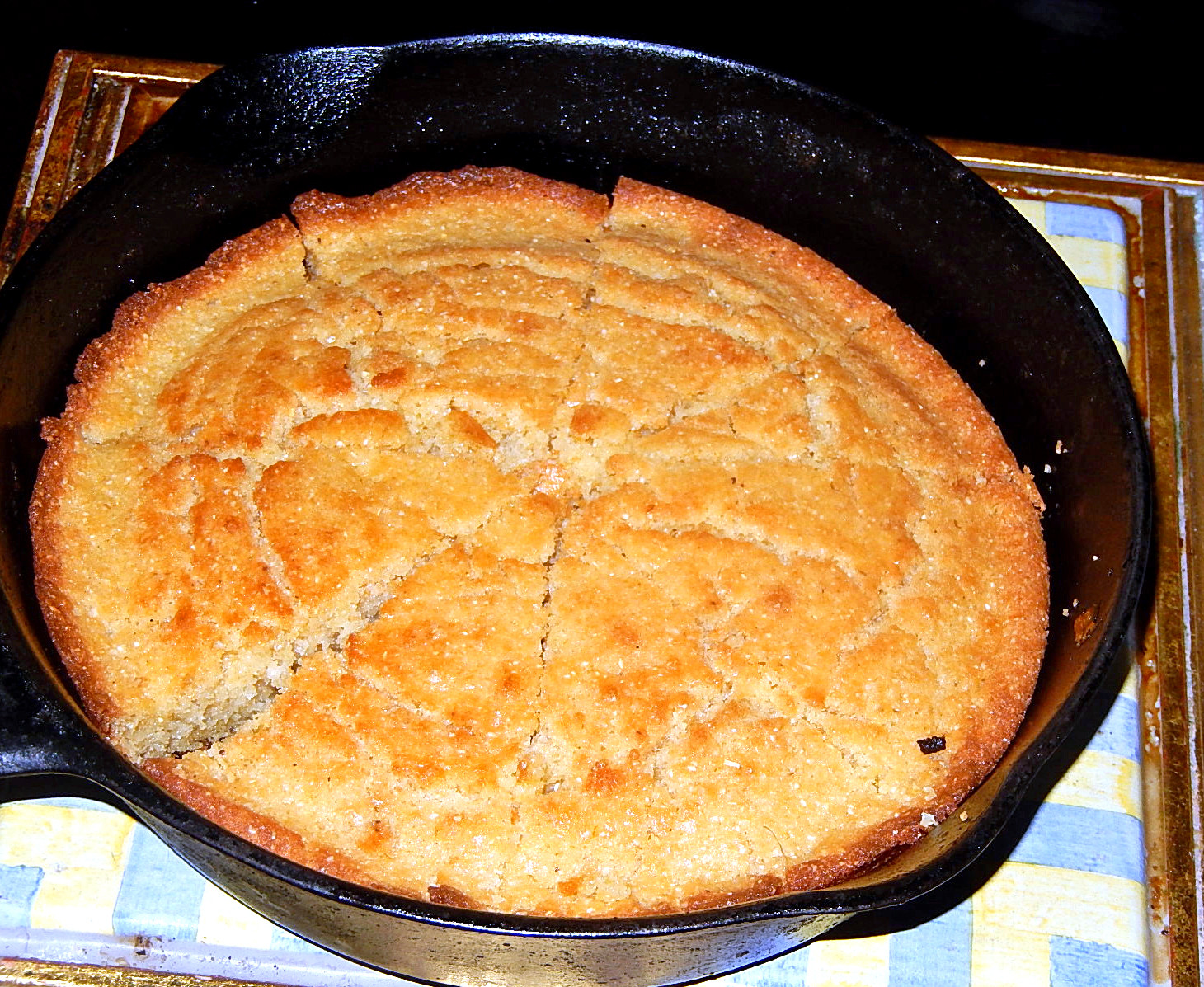 Cast Iron Skillet Cornbread  Glorious Cast iron the most useful pan to have in your