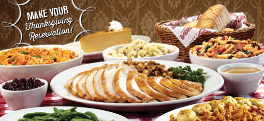 Catered Thanksgiving Dinners  Tell Everyone This Year's Thanksgiving Meal is at Buca