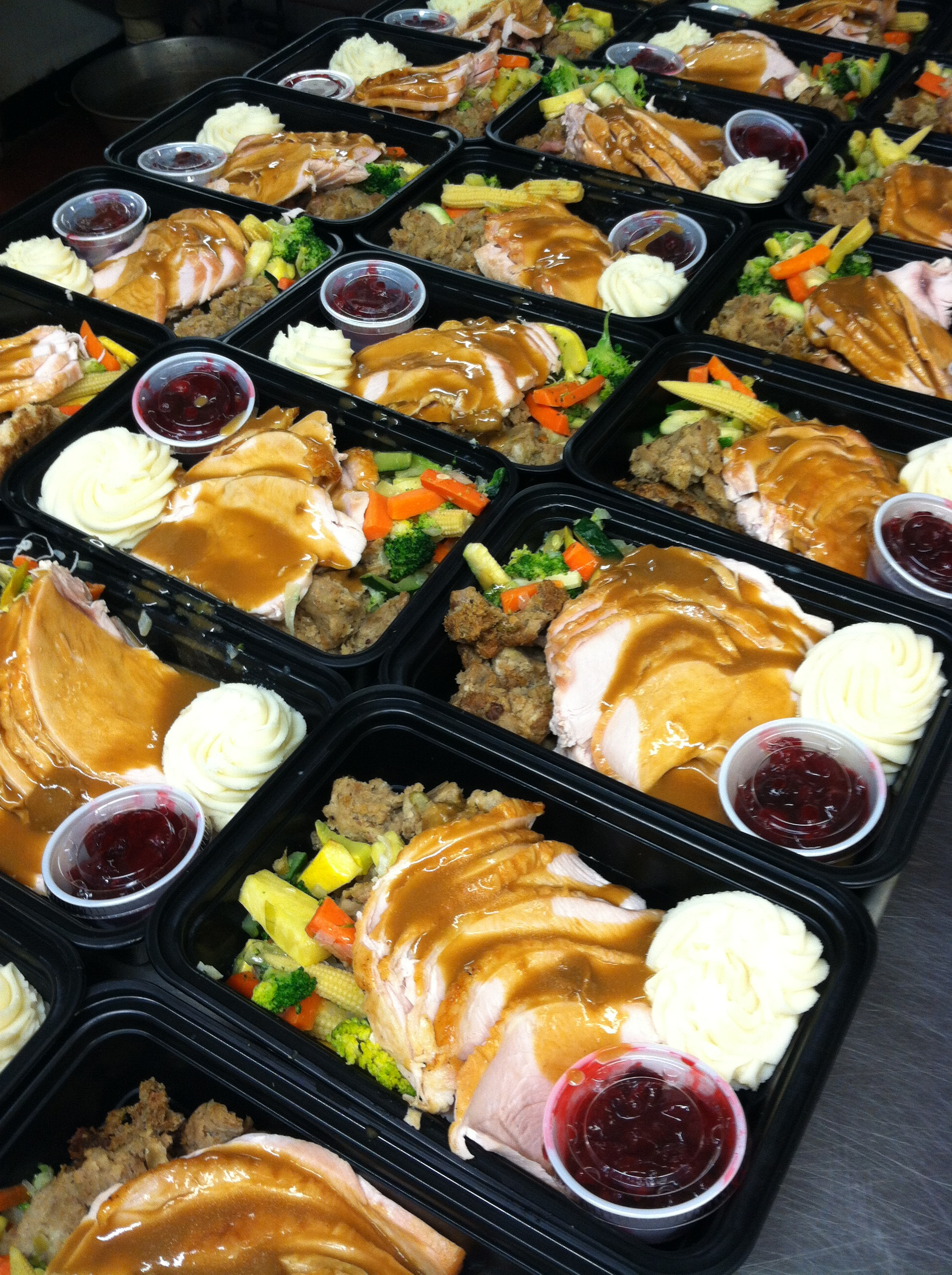 Catered Thanksgiving Dinners  Full Thanksgiving Dinners available from Pierrot Catering