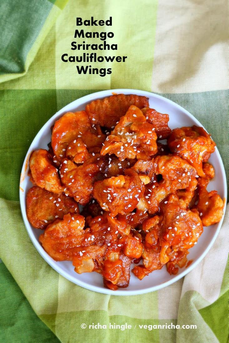 Cauliflower Recipes Vegan  Baked Mango Sriracha Cauliflower Wings and 16 Vegan