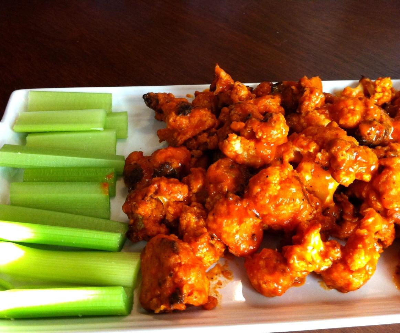 Cauliflower Recipes Vegan  Evolve Vegan Cauliflower Wings Revisited