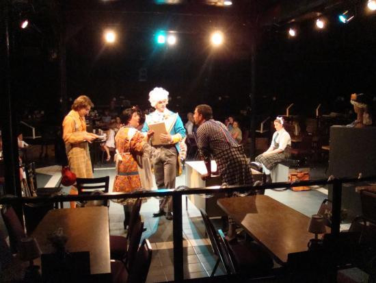 """Chaffin'S Barn Dinner Theatre  Live Magic Stage showing """"A Bad Year for Tomatoes"""