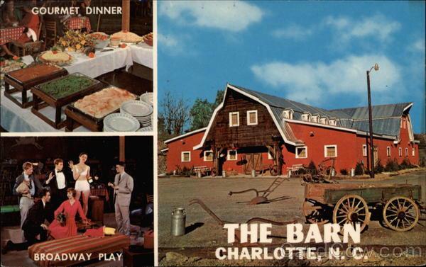 Chaffin'S Barn Dinner Theatre  The Barn Dinner Theatre Charlotte NC