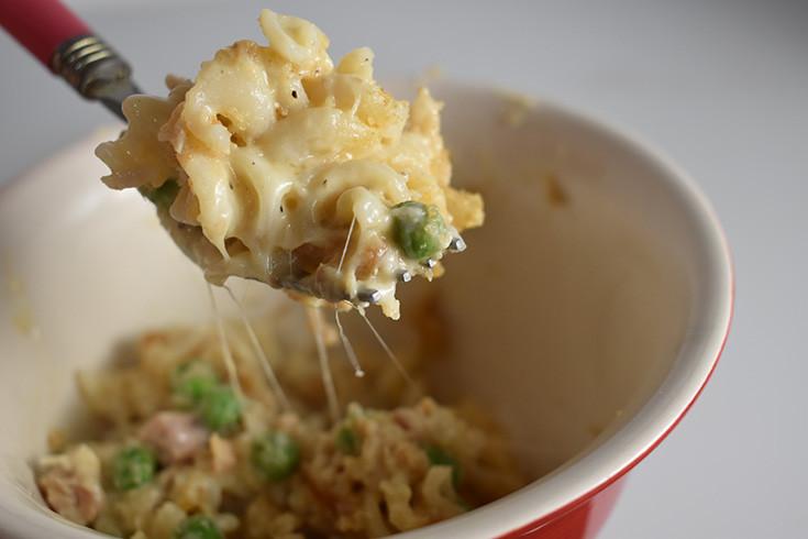 Cheesy Tuna Noodle Casserole  Creamy Crunchy & Cheesy Tuna Noodle Casserole